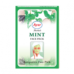 Ayur Herbals Mint Face Pack